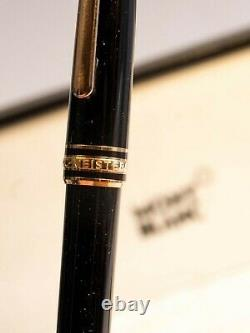 112679 Montblanc / Meisterstuck / penna a sfera Red Gold-Coated Classique