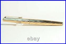 1974 75 MONTBLANC 1276 SOLID 585 GOLD MEISTERSTUCK Kolben Füller OM 750 Feder