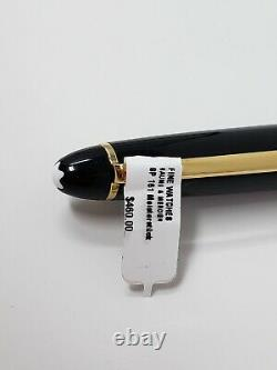 AUTHENTIC NEW Montblanc Meisterstuck LeGrand 161 Gold Ballpoint Pen with Case