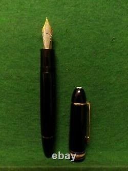 Antique Fountain Pen Montblanc MEISTERSTUCK No. 149 4810 18k Gold