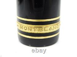 Auth MONTBLANC MEISTERSTUCK 149 14C Gold 4810 Nib Piston Fill Fountain Pen M1970