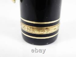 Auth MONTBLANC MEISTERSTUCK 149 14K Gold 4810 Nib Piston Fill Fountain Pen Y241