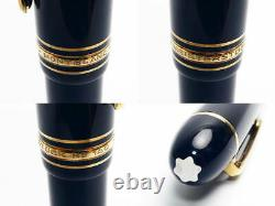 Authentic MONTBLANC MEISTERSTUCK Model 149 K14 Gold 4810 Fountain Pen