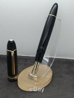 Authentic Montblanc Meisterstuck 149 FP 18K/750 Gold Nib Two Tone Fountain Pen