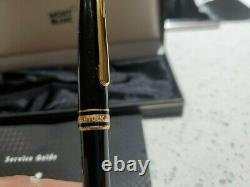 Brand new. 1995 vintage Montblanc meisterstuck classique ballpoint pen