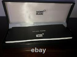 Discontinued New Montblanc Meisterstuck Mechanical Pencil. Black And Gold