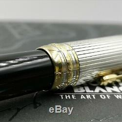 MONT BLANC SOLITAIRE DOUÉ LeGRAND MEISTERSTUCK Silver 925 gold Ballpoint Boxed