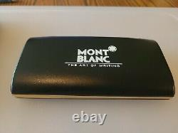 MONT-BLANC VTG MEISTERSTUCK ROLLERBALL PEN THE ART OF WRITING IN CASE WithPAP