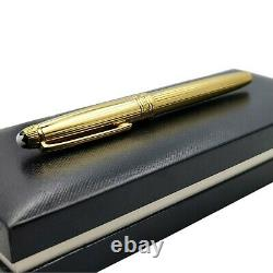 MONTBLANC 1447 MEISTERSTUCK CHEF D OEUVRE SOLID 18k GOLD FOUNTAIN PEN 146 149
