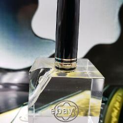 MONTBLANC Cap Barrel Black Gold For Classic Pen 144 163 164 165 PRE-1994 Parts