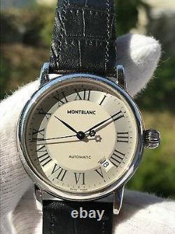 MONTBLANC MEISTERSTUCK 7042 AUTOMATIC MENS 36mm SWISS MADE EXELLENT CONDITION