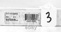 MONTBLANC MEISTERSTUCK BI-COLOR BRACELET MEDIUM 3173 NEW 17 mm 7 SEALED # 3
