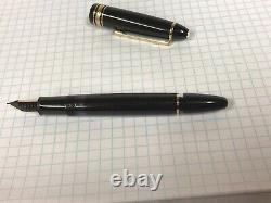 MONTBLANC MEISTERSTUCK No. 146 Le Grand Fountain Pen with 14K GOLD M NIB #4810