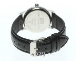MONTBLANC Meistersteck 7020 Date Silver Dial Quartz Boy's Watch 608267