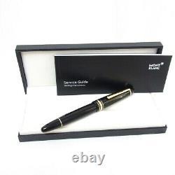 MONTBLANC Meisterstuck 146 Nib 14K gold F Fountain Pen