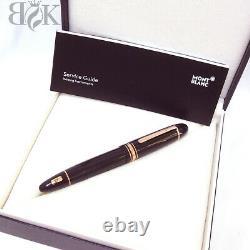 MONTBLANC Meisterstuck 149 Rose gold Fountain Pen Nib 18K gold EF 14.8cm New
