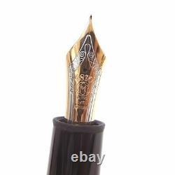 MONTBLANC Meisterstuck 149 Rose gold Nib 18K gold EF Fountain Pen