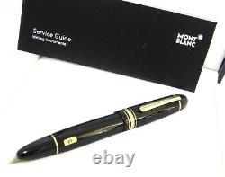 MONTBLANC Meisterstuck 149 gold Nib 18K gold EF Fountain Pen
