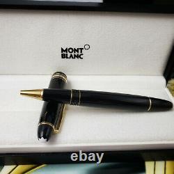 MONTBLANC Meisterstuck 162 Legrand Gold Black Rollerball Pen NEW