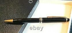 MONTBLANC Meisterstuck 164 Black and Gold Cassic/Classique Ballpoint Pen