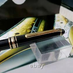 MONTBLANC Meisterstuck 164 Classic Black Gold Ballpoint Pen 10883 MINT