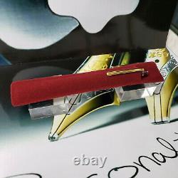 MONTBLANC Meisterstuck 164 Classic Classique Burgundy Gold Ballpoint Pen MINT