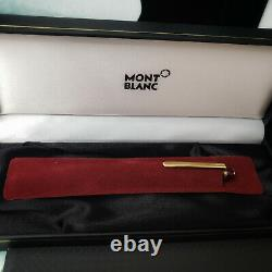 MONTBLANC Meisterstuck 164R Burgundy Red Gold Classic Ballpoint Pen NEW