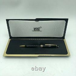 MONTBLANC Meisterstuck Black With Gold Trim LeGrand Ballpoint Pen And Box