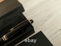 MONTBLANC Meisterstuck Black with Gold Trim Classique 144 Fountain Pen