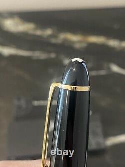 MONTBLANC Meisterstuck Gold Trim LeGrand 162 Rollerball Pen