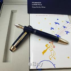 MONTBLANC Meisterstuck Le Petit Prince LeGrand Fountain Pen Happy Holiday Set