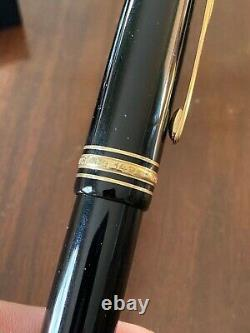 MONTBLANC Meisterstuck No. 149 Large Fountain Pen Desk Set with 4810 M Gold Nib