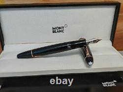 MONTBLANC Meisterstuck Red Gold Trim LeGrand Fountain Pen