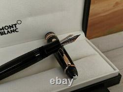 MONTBLANC Meisterstuck Rose Gold Trim LeGrand (146 size) Fountain Pen