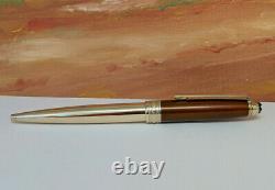 MONTBLANC Meisterstuck Solitaire Gold-plated Citrine 164 Ballpoint Pen
