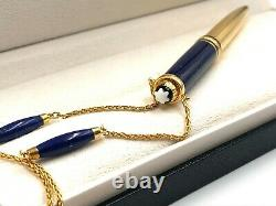 MONTBLANC Meisterstuck Solitaire Ramses II Mozart Ballpoint Pen W. Jewelry Chain