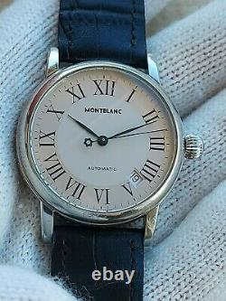 MONTBLANC WATCH MEISTERSTUCK AUTOMATIC MENS 36mm SWISS MADE EXCELLENT CONDITION