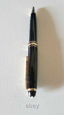 Mont Blanc Meisterstuck Ballpoint Pen 163 Gold Trimmed