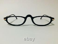 Mont Blanc Meisterstuck Black/gold Glasses Frames