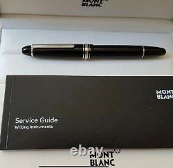 MontBlanc 145-Meisterstuck Classique Platinum Fountain Pen, Medium Nib Sale