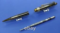 MontBlanc Meisterstuck Gold and Black Ballpoint pen M1864