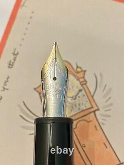 MontBlanc Meisterstuck Le Grand 146 Platinum Line Fountain Pen
