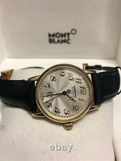 Montblanc 18ct Gold Meisterstuck Automatic Watch