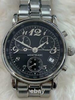 Montblanc 7038 Black Dial Men's Watch