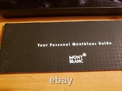 Montblanc Classique Meisterstuck Black w Gold Trim Rollerball Pen 163 12890