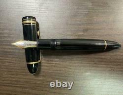 Montblanc Fountain Pen Meisterstuck 149 Hemingway 1990s Nib Gold 18K Medium