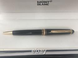 Montblanc GOLD Finish Meisterstuck Classique Luxury Ballpoint Pen 164 NEW