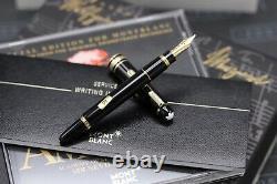 Montblanc Meisterstuck 114 Mozart Gold Line Fountain Pen NEW March 2021