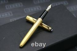 Montblanc Meisterstuck 144 Classique Barley Gold-Plated Fountain Pen OB Nib