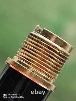 Montblanc Meisterstuck 144 Classique Gold Line Fountain Pen. NOS